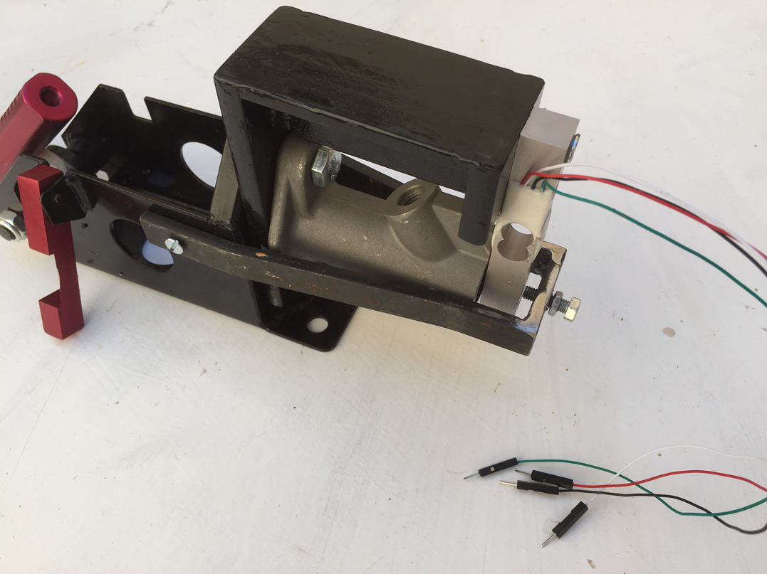 Tutorial - Hydraulic handbrake converted to load-cell