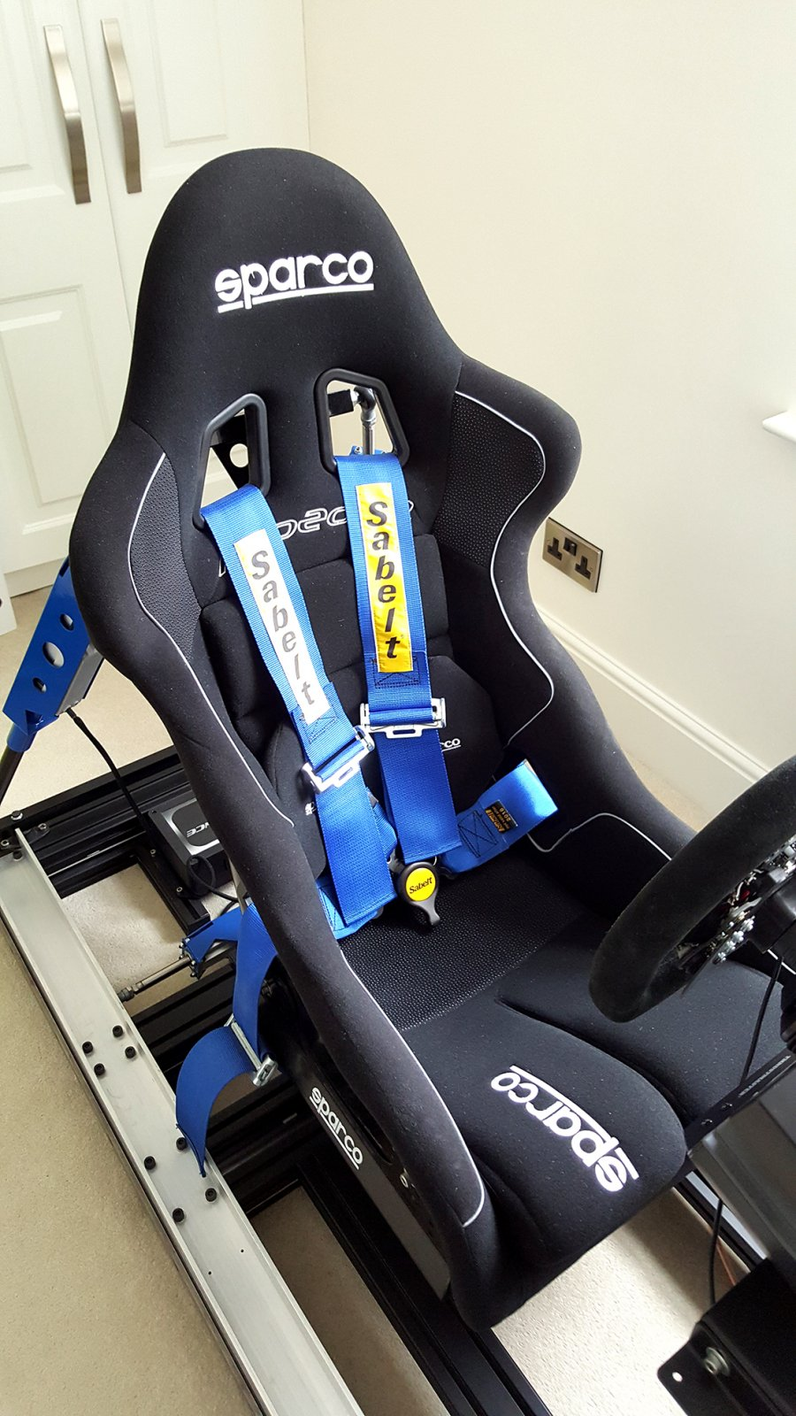 3DOF SimXperience SX3000 Motion Racing Simulator Kit - UK