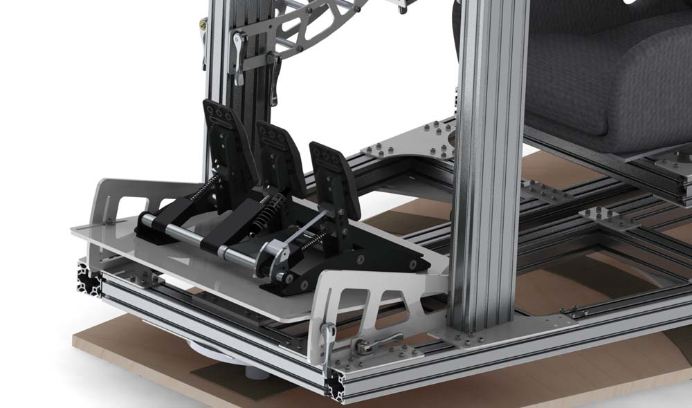 8020 Rig with traction loss