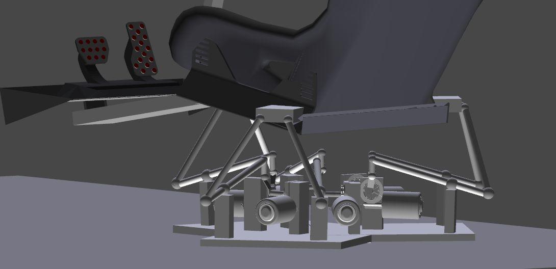 Diy 6dof Motion Platform - DIY Unixcode