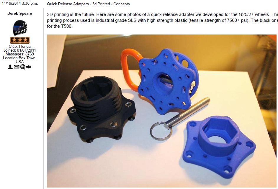 Tutorial - 3D printed Quick-release
