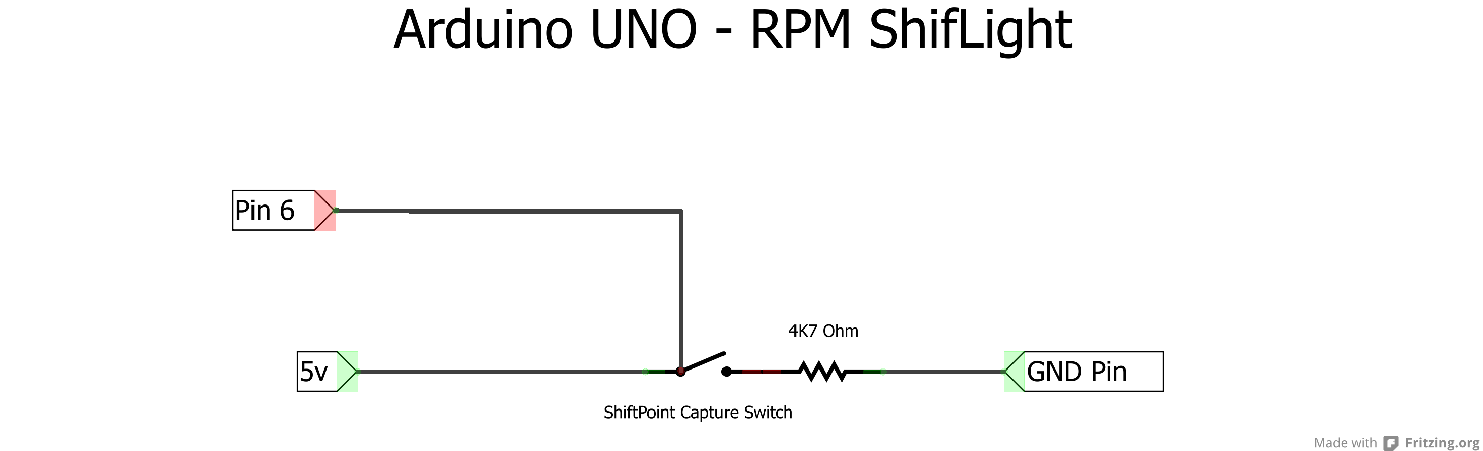 Tutorial - Adjustable Shift Light with UNO in GameDash