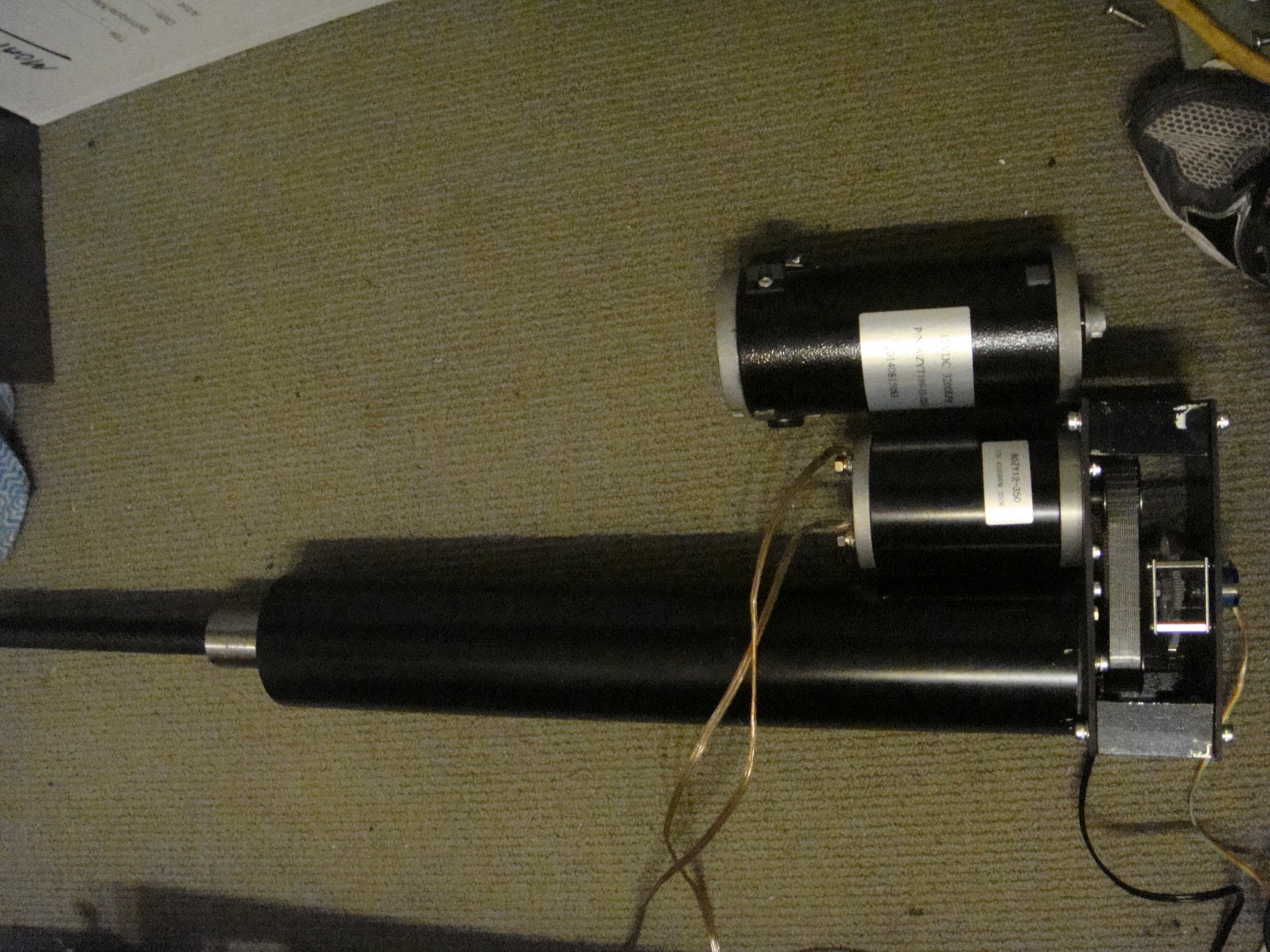 6dof Seat Mover With Dc Worm Gear Motors