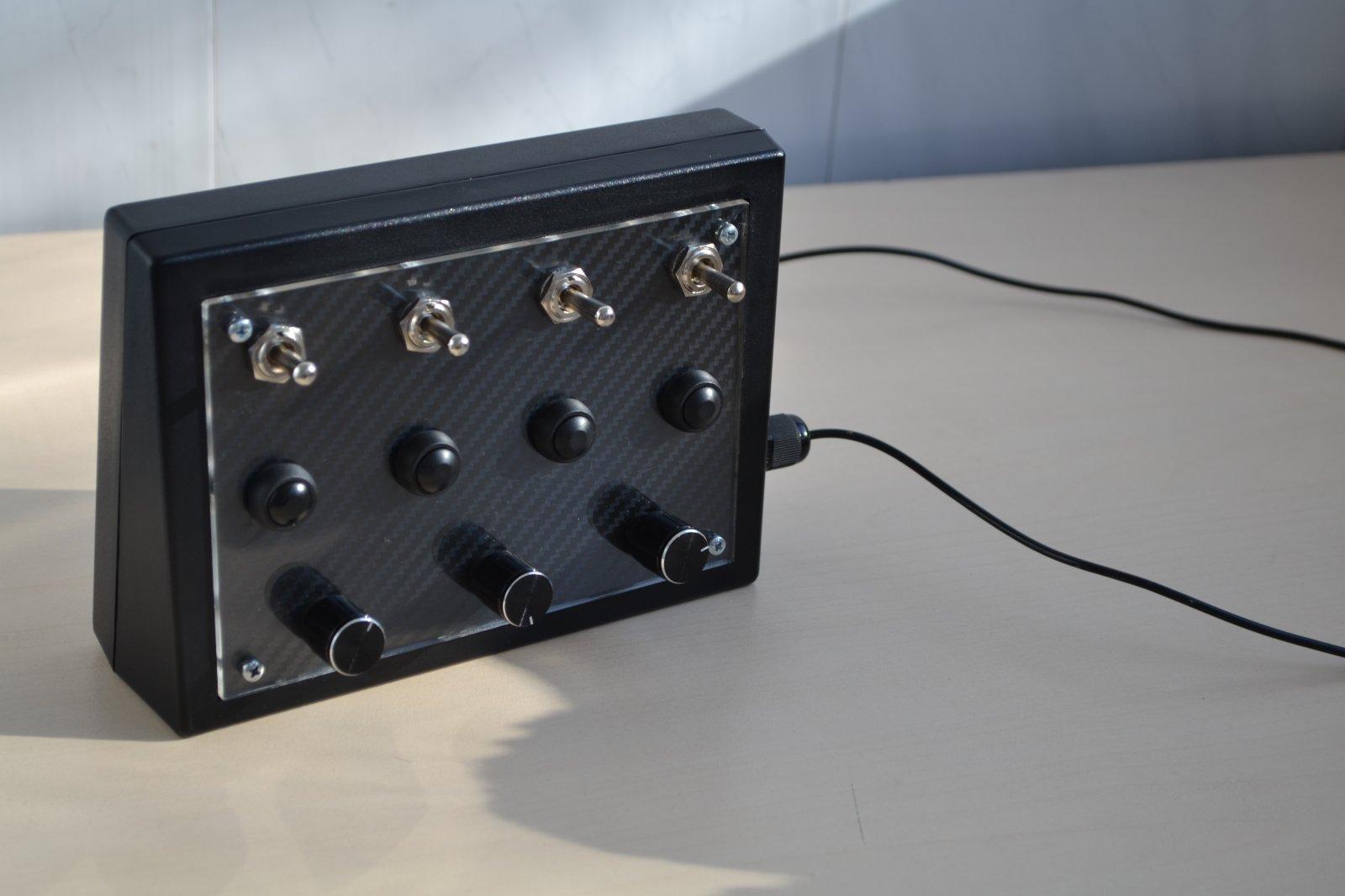 DIY Arduino Buttonbox