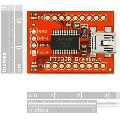 Tutorial - Sparkfun FTDI USB to serial UART DIY board