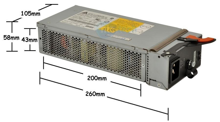 2000 watts server supply: DPS-2000BB (A)