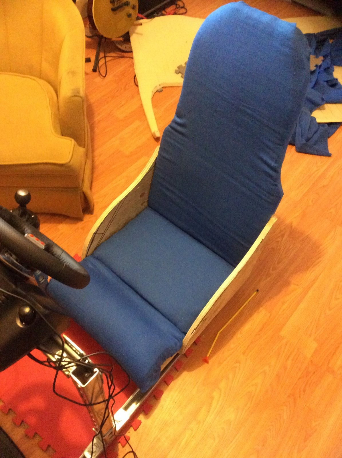 Diy Racing Simulator Seat - DIY Campbellandkellarteam