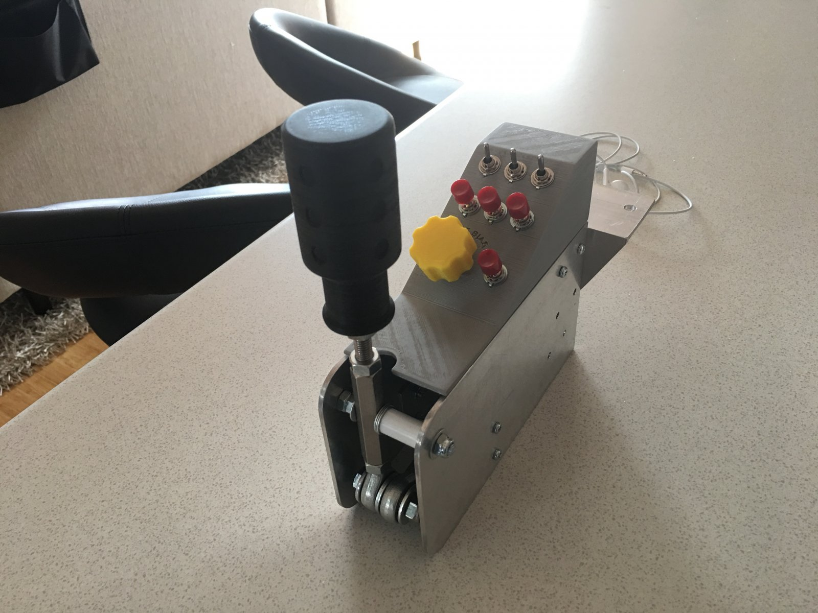 Diy Sequential Shifter With Button Box