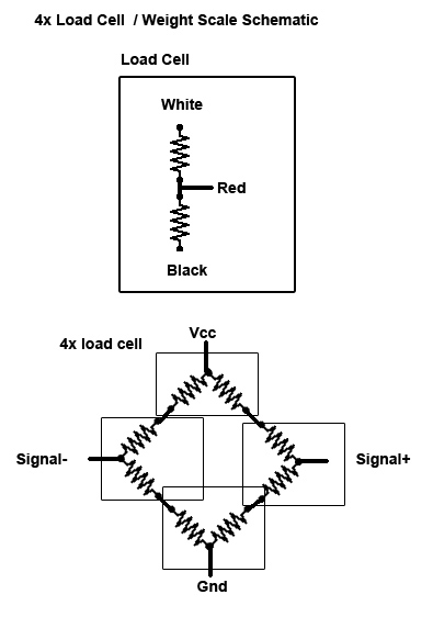 lesson working with load cells diagram of flat bridge or if you want to use a 4 wires pcb amplifier with your 3 wires load cell you can proceed like jet badger did