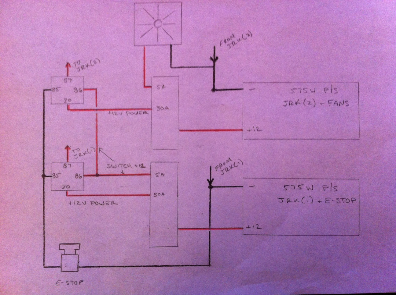 Emergency Stop Switch Wiring Page 2 Estop Relay Diagram
