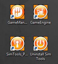 Sim Tools Icons