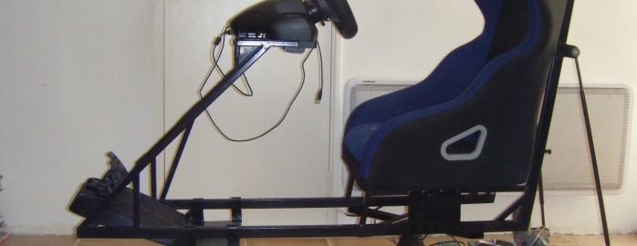 2DOF Motion Simulator with truck wiper motor playseat
