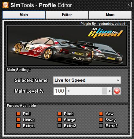 Profile Editor