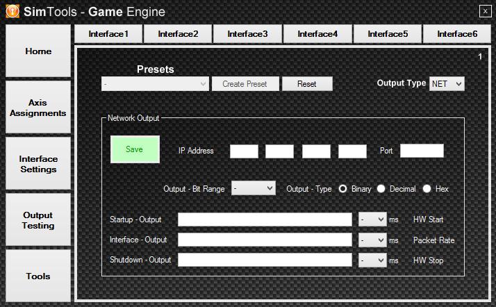Setting a Net Interface