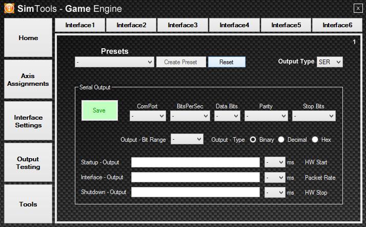 setting a Ser interface